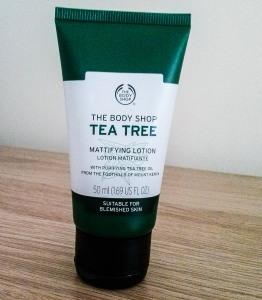 Bodyshop, skincare, tea tree oil, oily skin, best oily skin moisturiser,