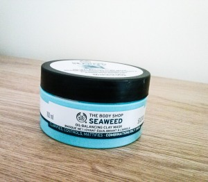 The Bodyshop Seaweed oil balancing clay mask