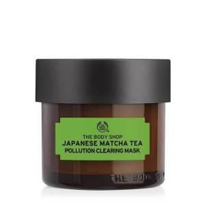 The Bodyshop, oily skin, best face mask, oily skin staples, matcha tea, best tea rinse