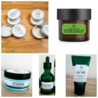 My Top 5 Bodyshop Products For Oily Skin